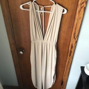 Adorable Nude jumpsuit